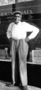 Totem Shaw  in an undated photograph after his retirement in Fontana, Calif.