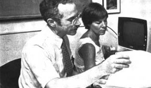 Gary Friedman, MD, led the Division of Research from 1991 to 1998. This image originally appeared in the KP Reporter, 1987.