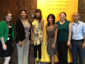 2012-2013 fellows of the Kaiser Permanente of Southern California Community Medicine program