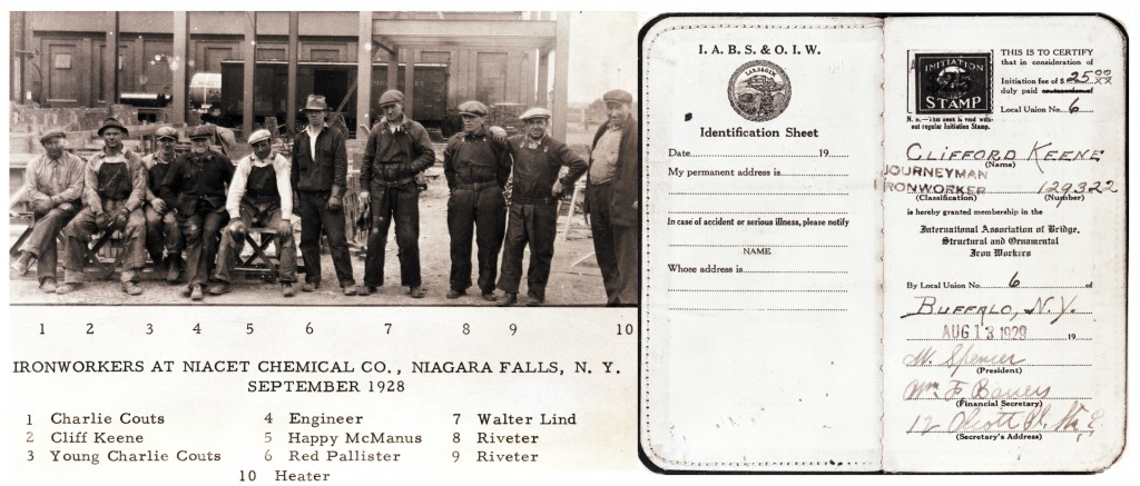 Ironworkers at Niacet Chemical Company