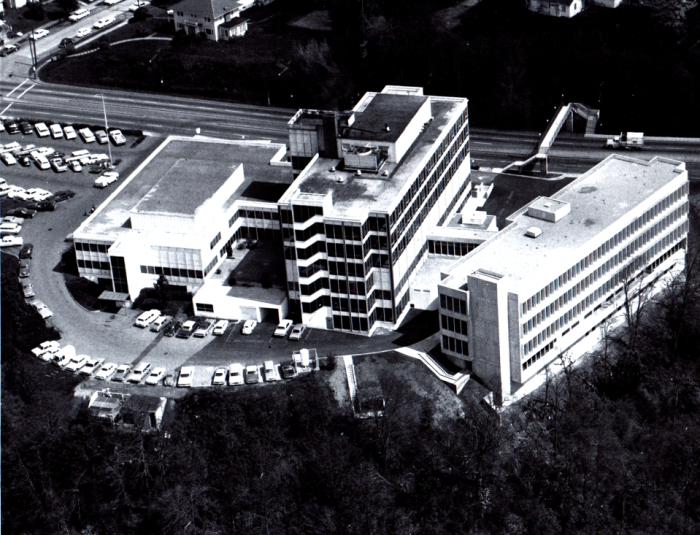 Aerial view of Bess Kaiser Hospital