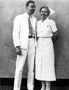 Cecil and Millie Cutting were among the first medical staff of Henry Kaiser and Sidney Garfield, MD, care programs for Grand Coulee and Richmond Shipyard workers in the 1930s and 1940s.