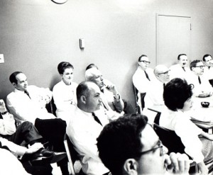 The Doctors Gaston (left rear) at Hayward Medical Center. Kaiser Permanente photo