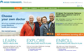 Kaiser Permanente Medicare Website