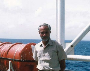 Bill Kooiman, chief purser on the SS Hope on the way to Maceio Brazil in 1973. Hope alumni established a volunteer fund last year to honor his memory.