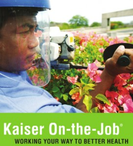 Kaiser On-The-Job brochure graphic, 2012