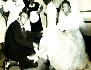 Jessie Head married Robert Cunningham in ceremonies on May 9, 1954. Photo courtesy of Cunningham family.