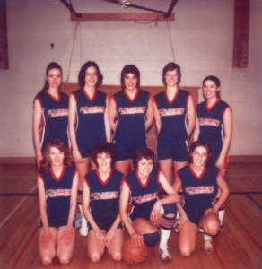 First Kaiser Aluminum women's basketball team, 1977