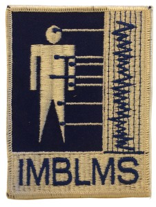 Integrated Medical and Behavior Laboratory Measurements System project patch, circa 1973