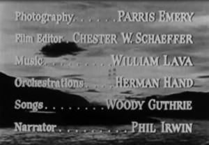 Film credits for 'The Columbia'