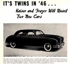 Promo about Kaiser Frazer cars, Fore 'n' Aft, 1945-12-28, RMH