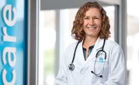 Internal medicine physician Heather Cassidy, MD