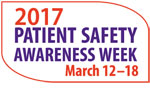 patient safety awareness week logo