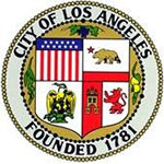 Seal of City of Los Angeles, founded 1781