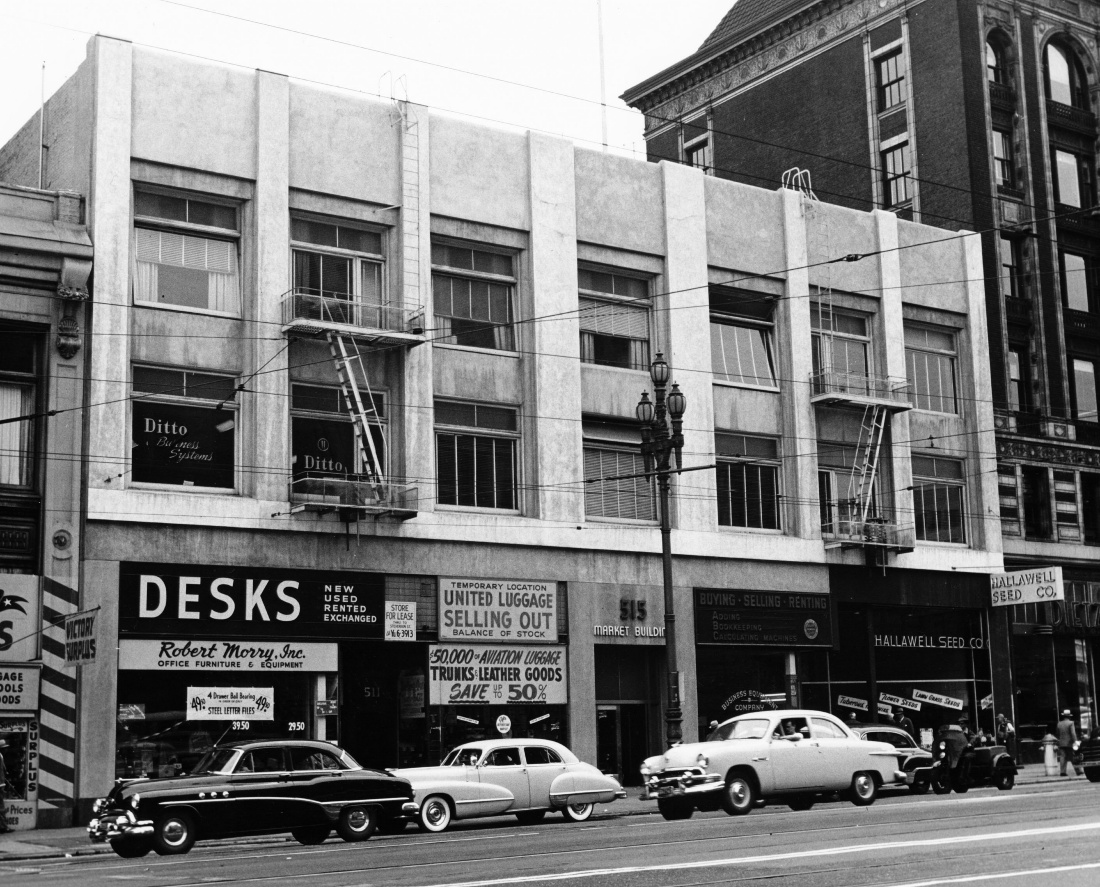 515 Market St (at First St) - Permanente's first San Francisco clinic site 1948-1955