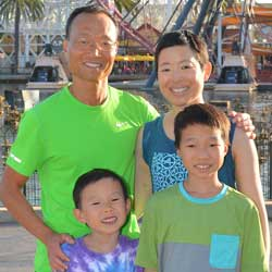 Vanessa Hsieh-Park and family