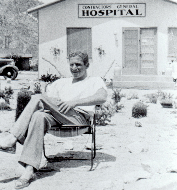 Dr. Sidney Garfield at Contractors General Hospital, 1935