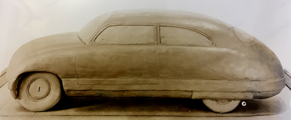 Clay model of Kaiser Car