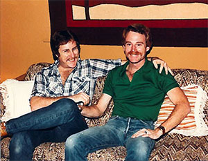 Rusty Myers and his partner Wayne.