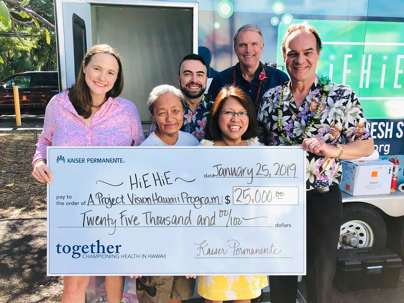 Granting $188,500 to support health in Hawaii