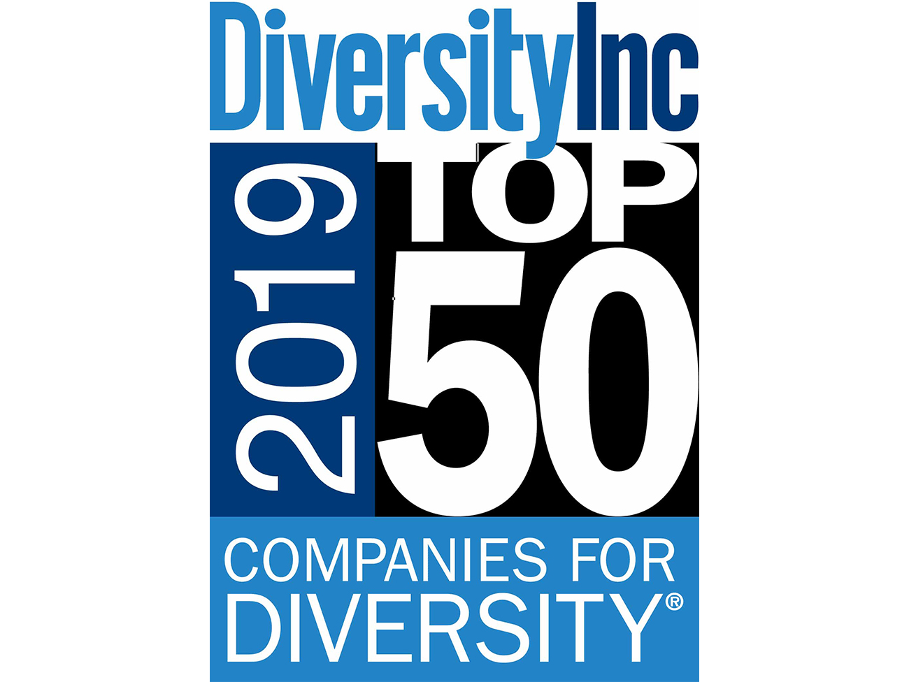 Once again named to DiversityInc Top 50 Hall of Fame