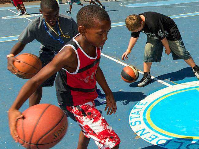 Why the Warriors teamed up with Kaiser Permanente for community health