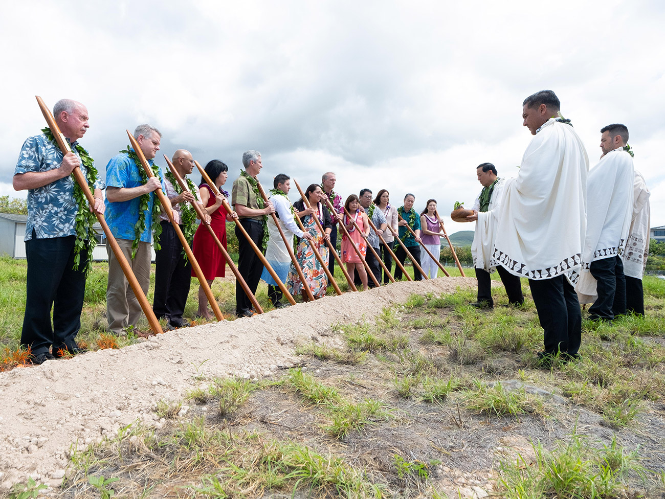 Groundbreaking ceremony prayer