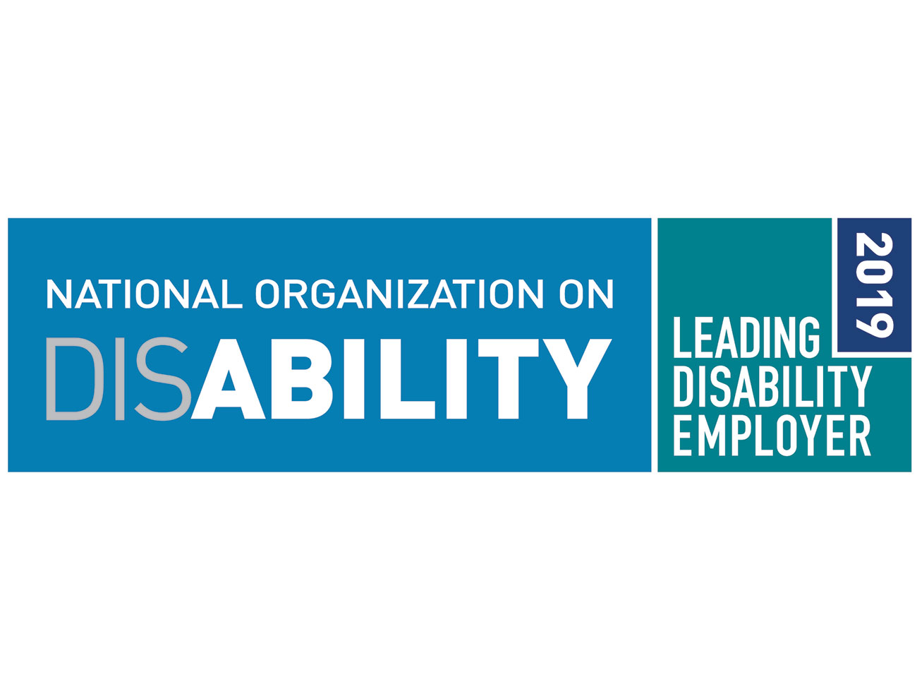 National Organization on Disability Leading Disability Employer 2019 logo