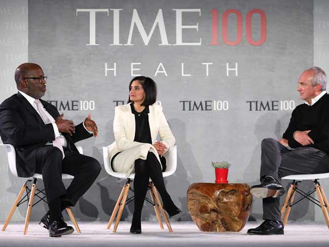 Chairman & CEO at Kaiser Permanente, Bernard J. Tyson, spoke on stage during the TIME 100 Health Summit in New York City.