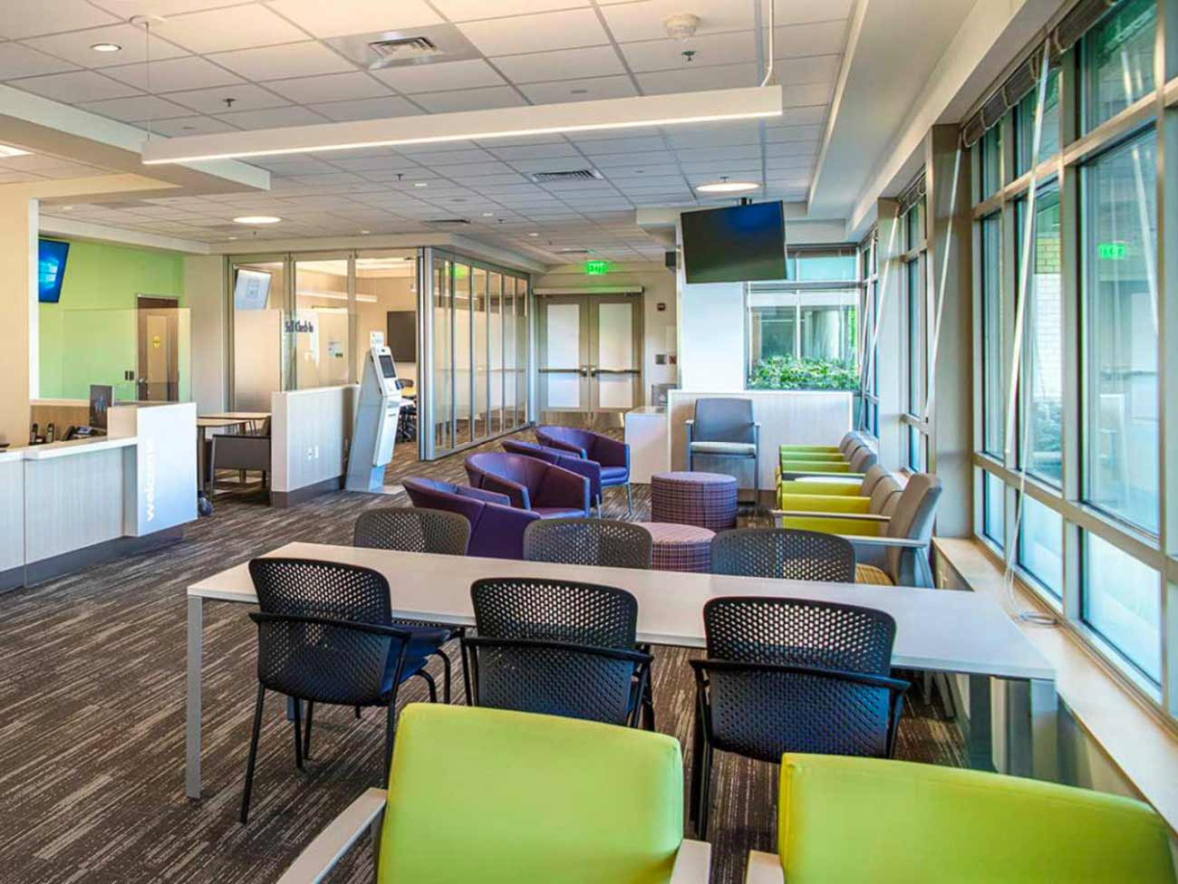Interior of Kaiser Permanente Chase Gardens Medical Center