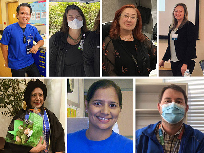 Recipients of the 2020 Kaiser Permanente National Nursing Excellence Awards