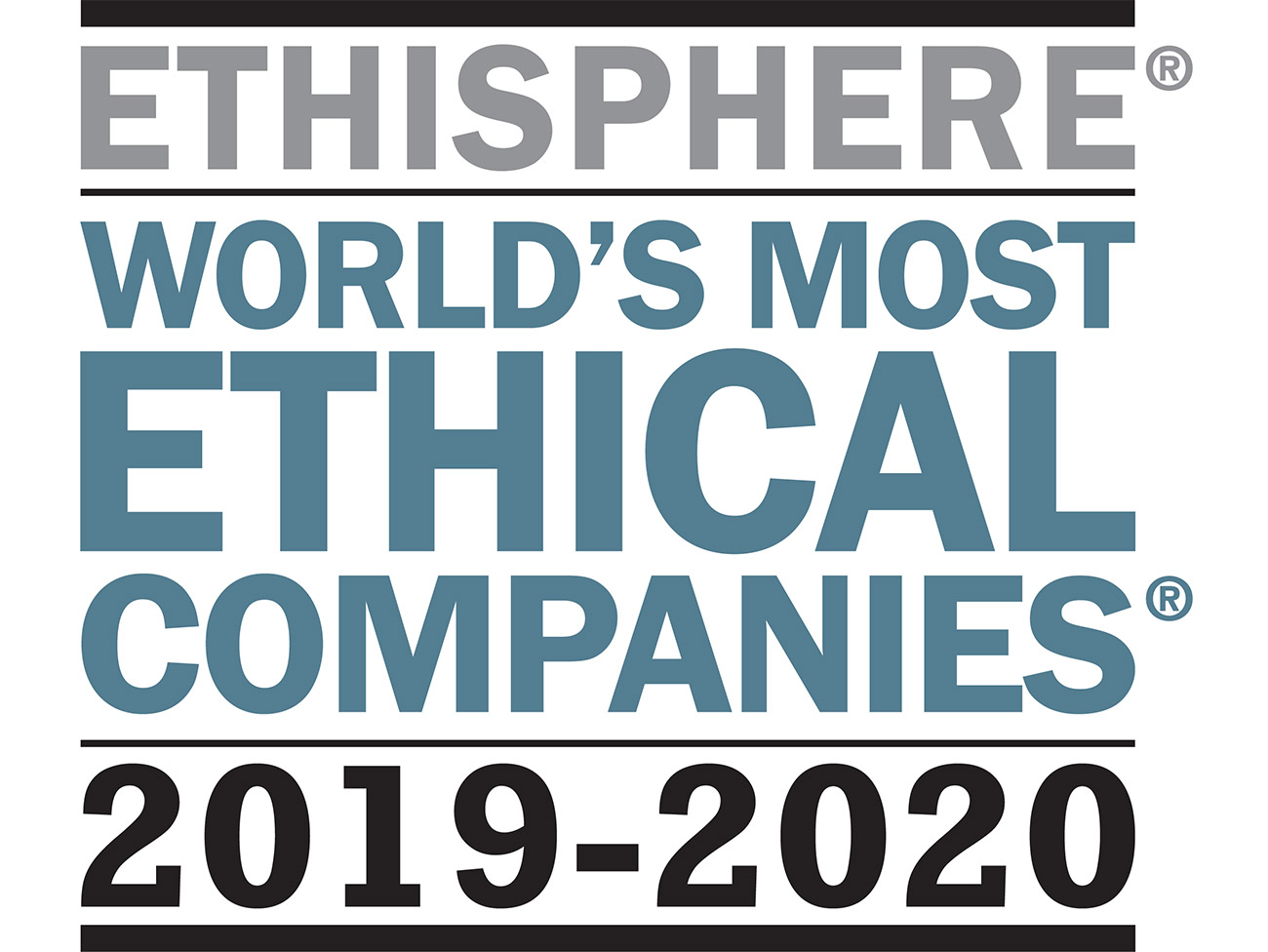 Ethisphere World's Most Ethical Companies 2019-2020 logo