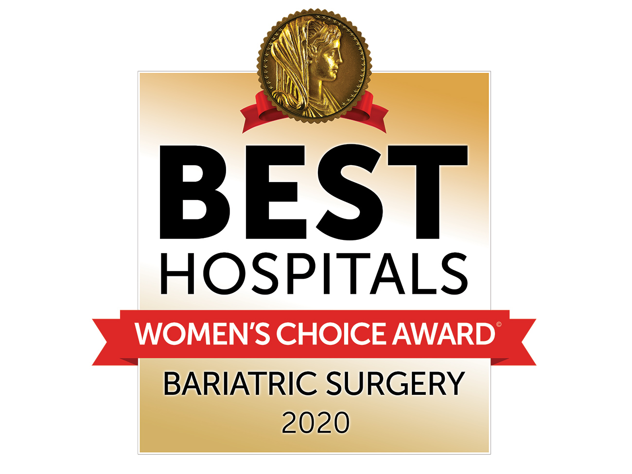 Best Hospitals, Women's Choice Award: Bariatric Surgery, 2020