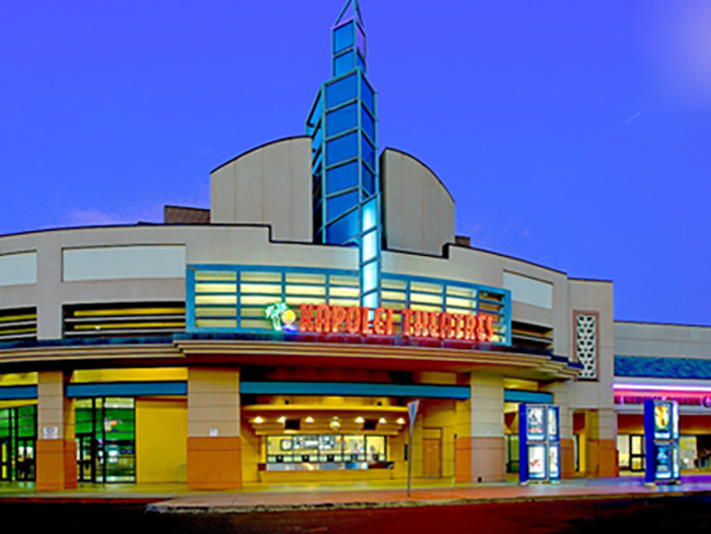 outside view of the front of Kapolei Theatre building